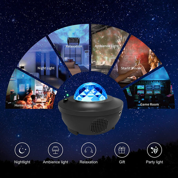 Stellar Projector GalaxyVerse™ Stars and Galaxy LED Projector