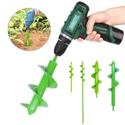 Simply Gadgets Garden Spiral Drill - For Electric Drill Ground