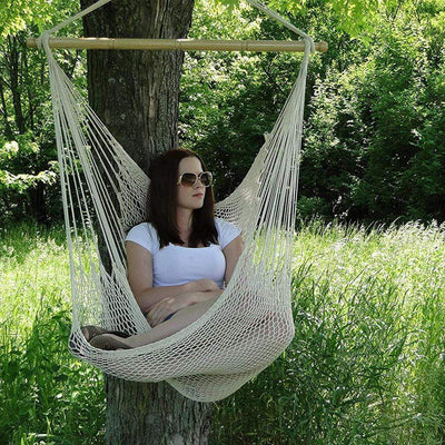 Simply Gadgets Hammock Chair Rope Hanging for Outdoor