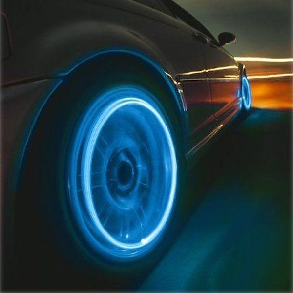 IFLGADGETS-ST Motion Activated LED Wheel Lights (2 Pack) Electronics Blue