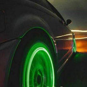 IFLGADGETS-ST Motion Activated LED Wheel Lights (2 Pack) Electronics Green