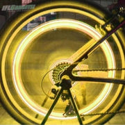 IFLGADGETS-ST Motion Activated LED Wheel Lights (2 Pack) Electronics Yellow