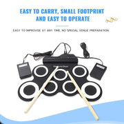 Simply Gadgets Portable Electronic Drum Toys