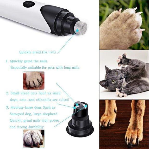 IFLG - LE PowerPaw™ Electric Pet Nail Trimmer