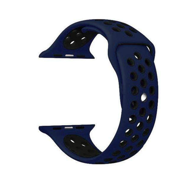 IFLGadgets Store Smart Watch Silicone Strap Electronics 17 Dark blue black / for 38mm Watch ML