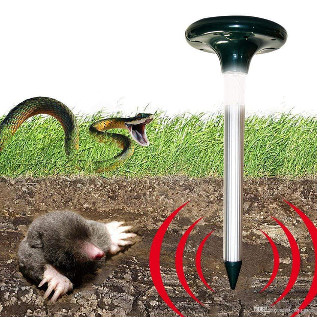 IFLGADGETS-ST Solar Powered Pest Repeller Circle