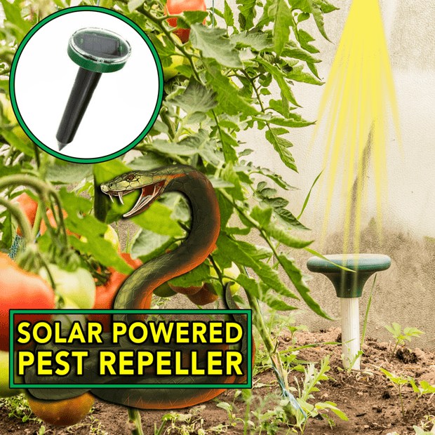 IFLGADGETS-ST Solar Powered Pest Repeller