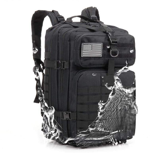 Simply Gadgets Tactical Backpack Sports and Outdoors Black