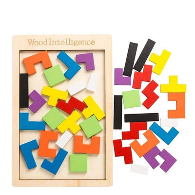 Limitlessproduct Tetris Wooden Puzzle Toy Toys