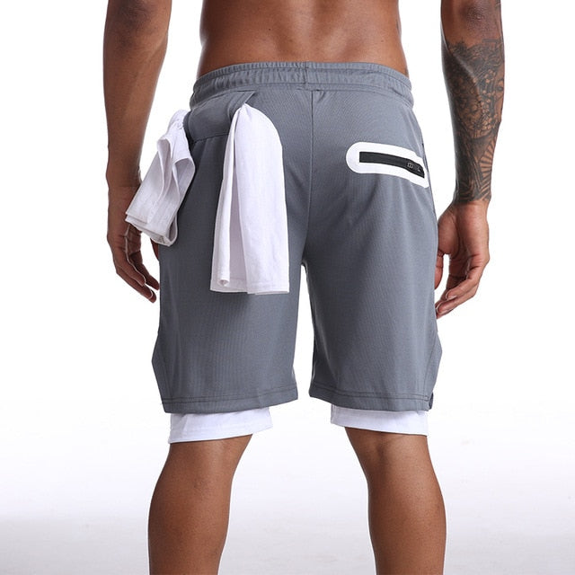 NewLeaf - 2 in 1 Compression Shorts
