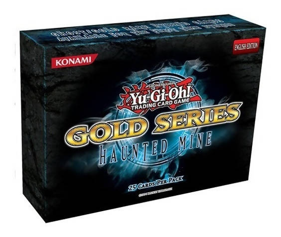 Cartas Yu-Gi-Oh! Gold Series Haunted Mine (5 paquetes)