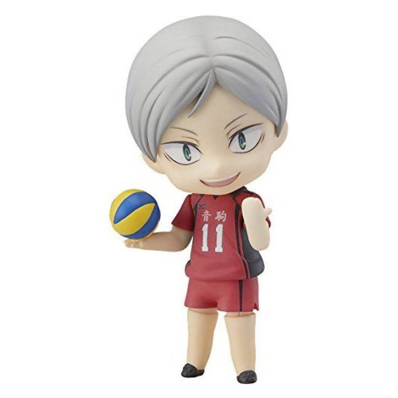 Figura Nendoroid de Lev Haiba (806 Orange Rouge) - Haikyu!!
