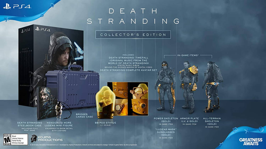 Death Stranding Collector's Edition (PlayStation 4)