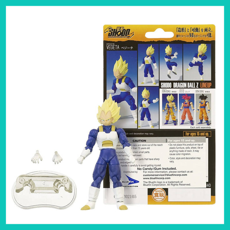 Figura Shodo de Super Saiyan Vegeta - Dragon Ball Z