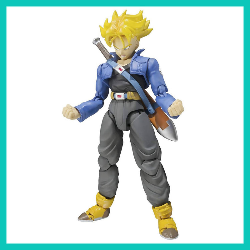 Figura S.H. Figuarts de Trunks (normal y Super Saiyan)