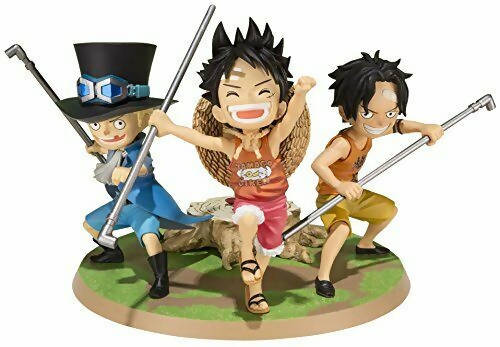Figura Child Luffy Ace Sabo (Figuarts Zero) - One Piece