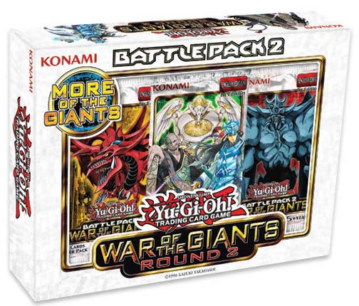 Yu-Gi-Oh! Battle Pack War Of The Giants Round (2 Battle Pack)