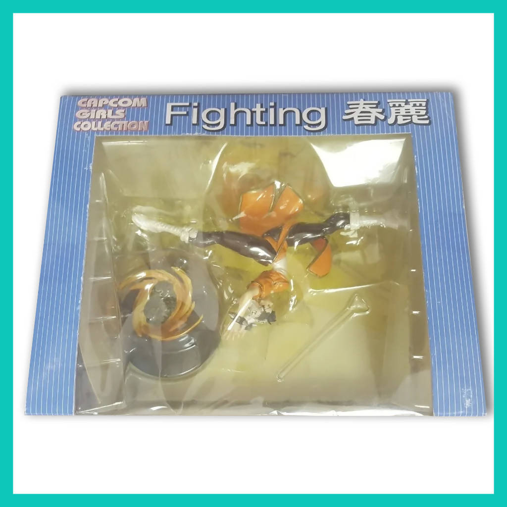 Figura Chun Li - Capcom Girls Collection: Fighting (color naranja)