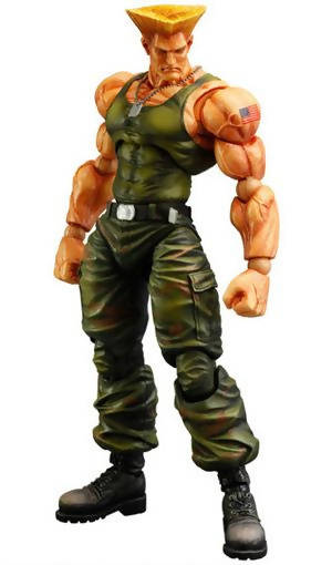 Figura de Guile (Play Arts) - Street Fighter IV