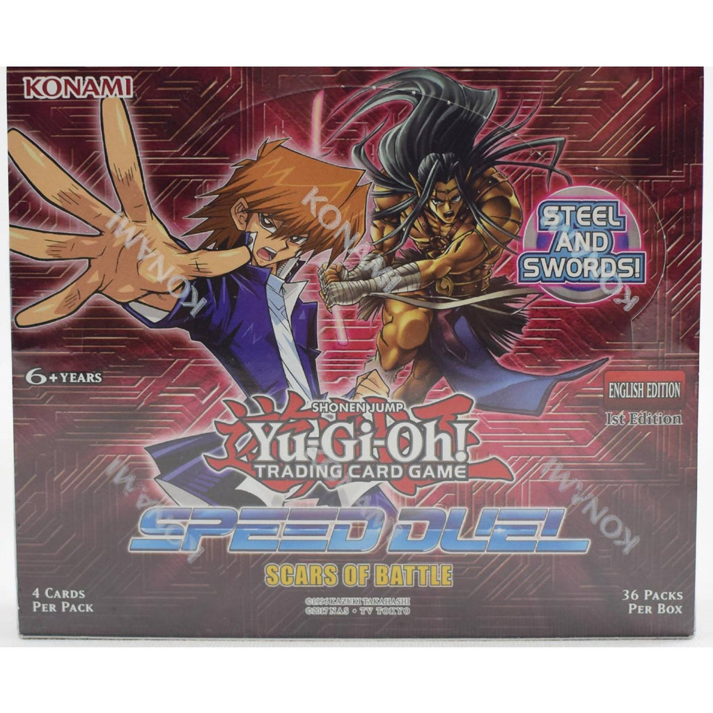 Cartas Speed Duel Scars of Battle Booster Box - Yu-Gi-Oh!