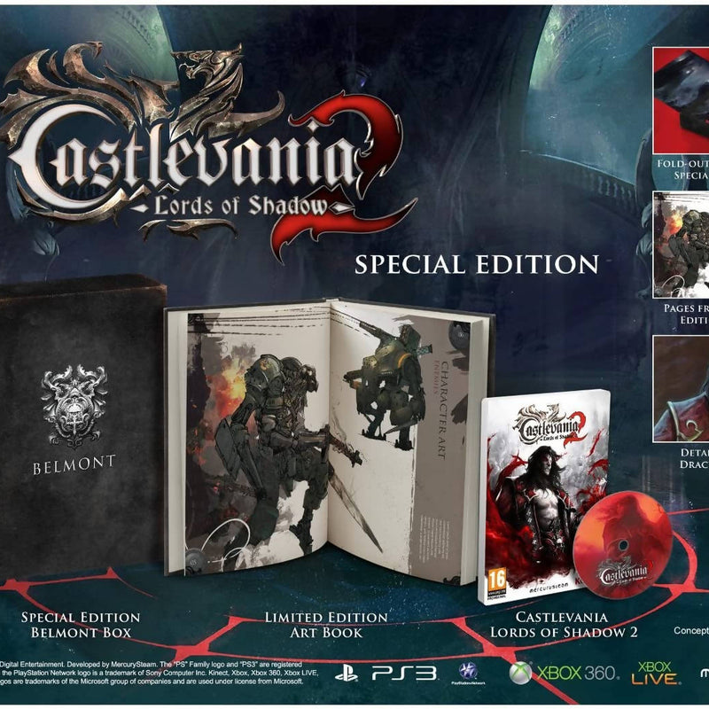 Castlevania: Lords of Shadow 2 (Special Edition) para PlayStation 3