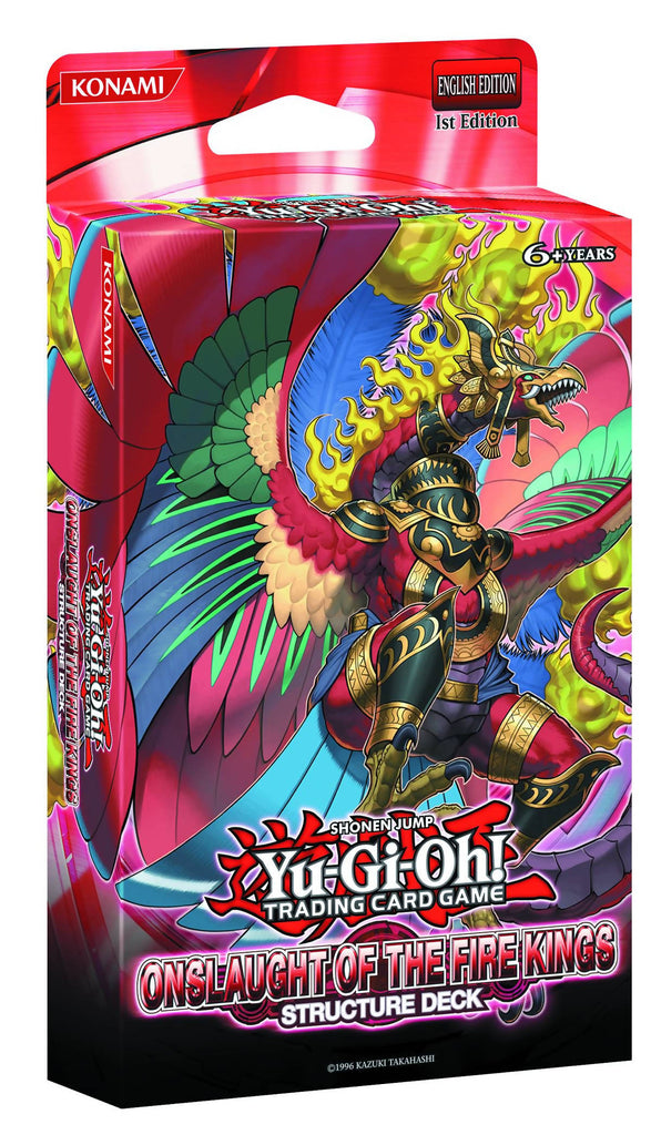 Cartas Yu-Gi-Oh! Onslaught Of The Fire Kings Structure Deck