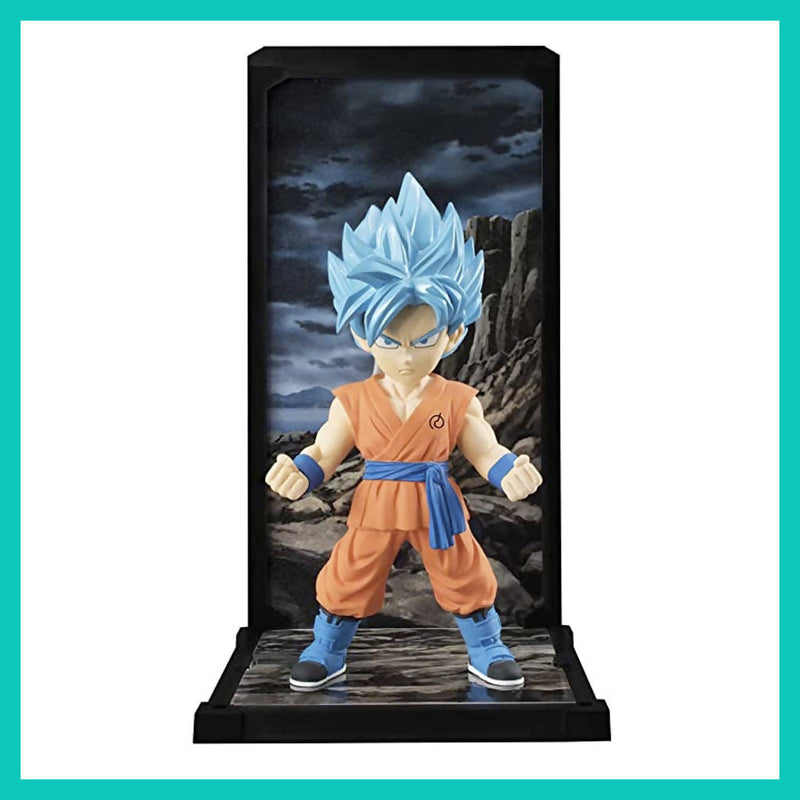 Figura Tamashii Buddies de Son Goku Super Saiyan God - Dragon Ball Super