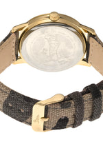 Boum Sauvage Camo-Strap Watch - Gold