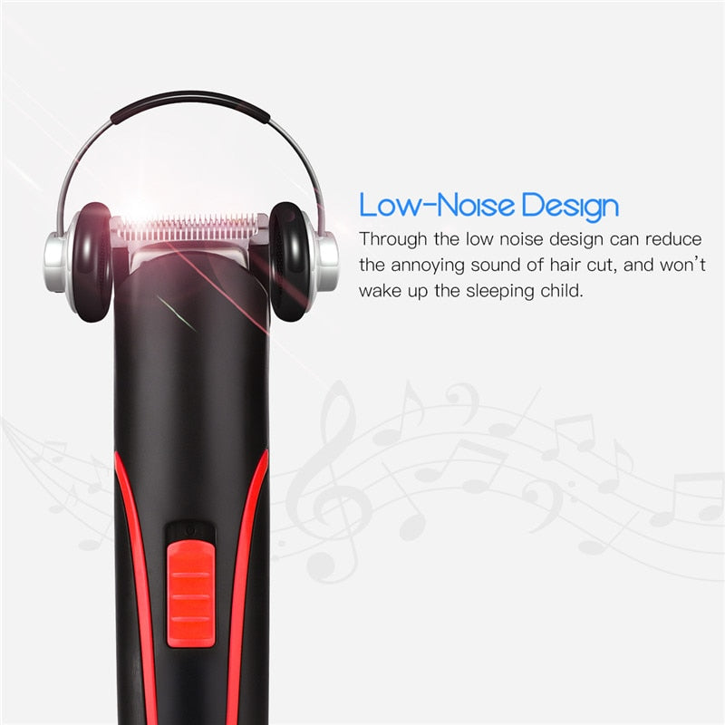 Portable Rechargeable Hair Clipper Trimmer