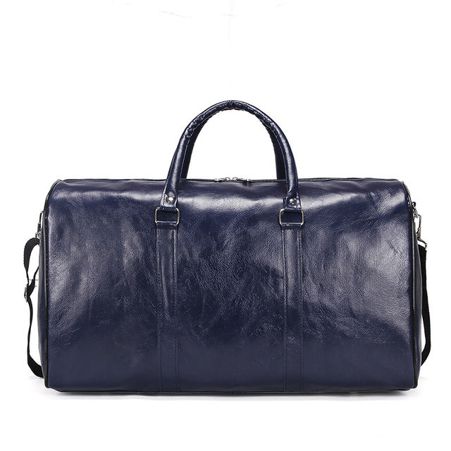 Retro Leather Travel Bag