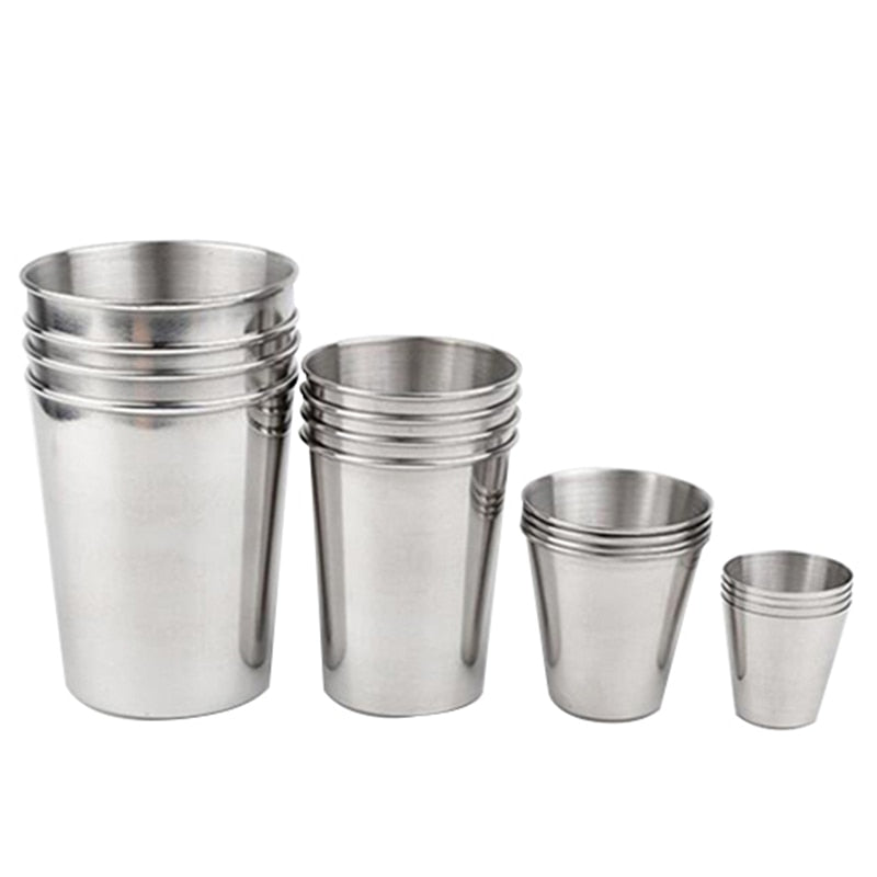 Stainless Steel Beer Cups