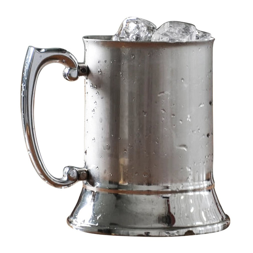 500ml Stainless Steel Silver Coffee Beer Cup
