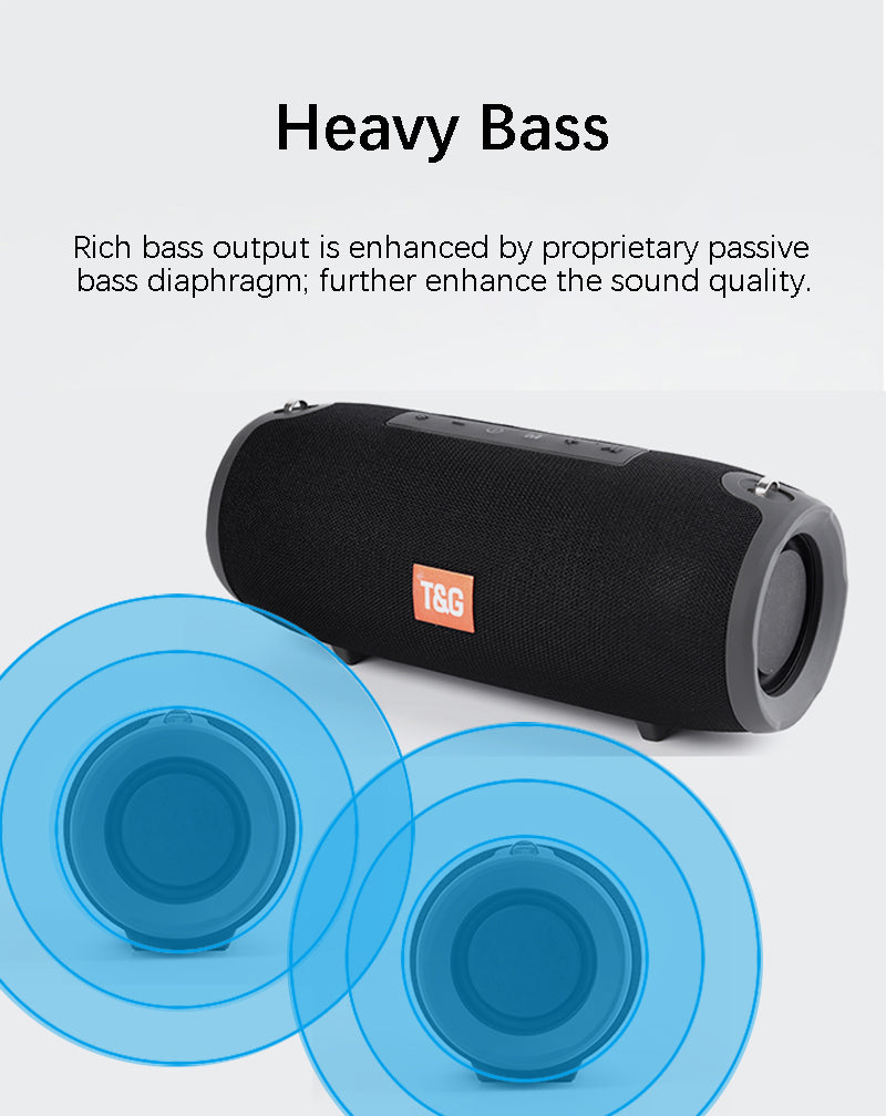Portable Bluetooth Speaker 40w Wireless Speakers