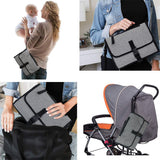 Portable Folding Baby Diaper Bag