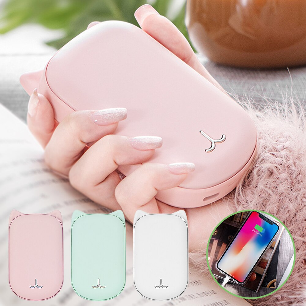 2 in 1 Portable Power Bank and Hand Warmer