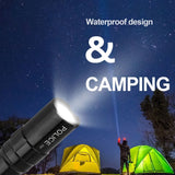 3W Waterproof LED Flashlight