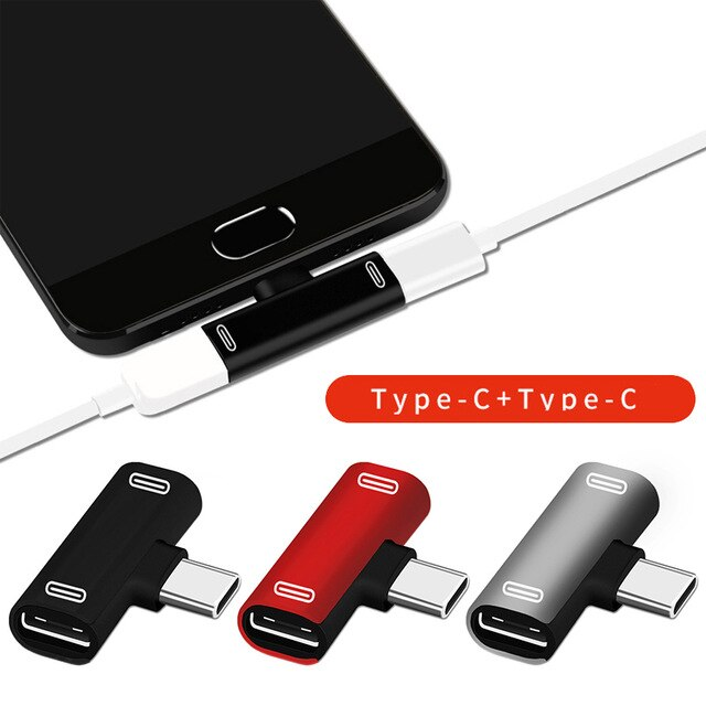 3 In 1 USB C To Type-C Adapter