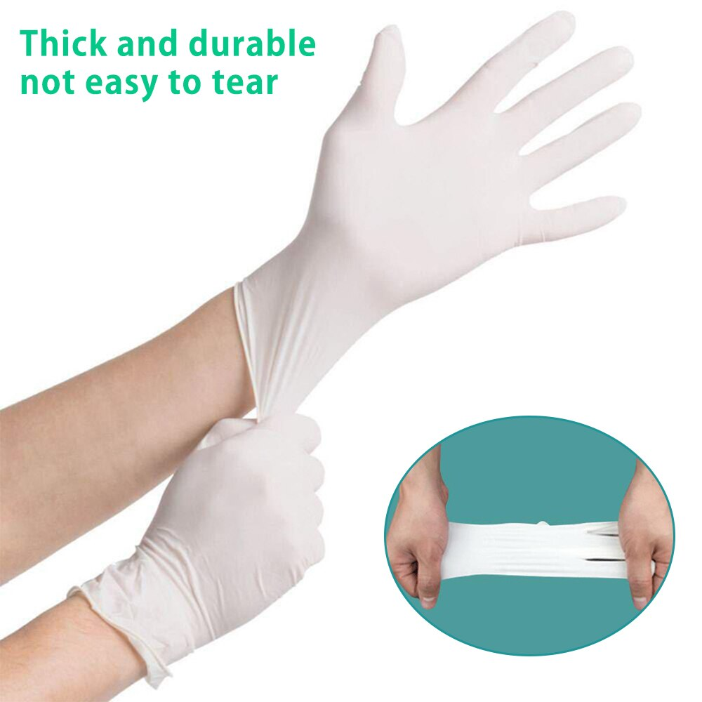 Disposable Latex Gloves (100pcs) - Fast Shipping