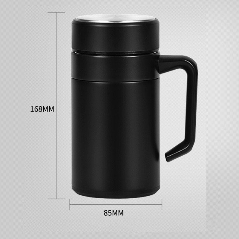 500ml Stainless Steel Double Wall Insulated Vacuum Flask