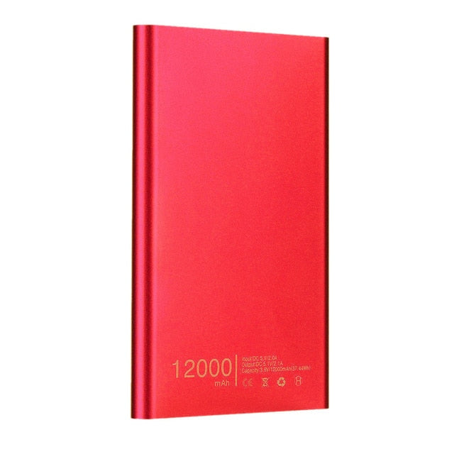 12000mAh Portable Ultra-Thin Powerbank