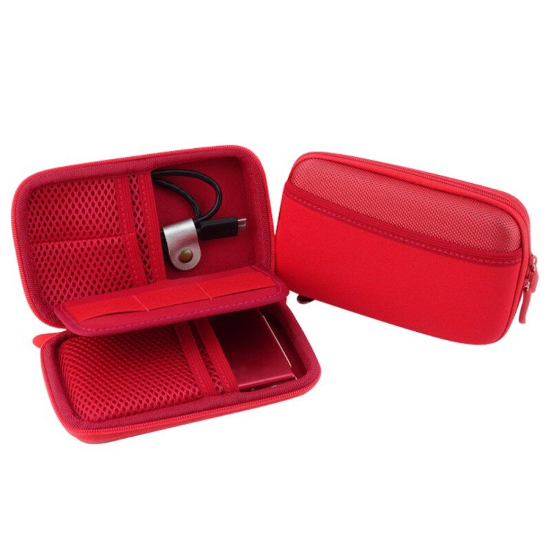 Anti-Shock Hard Drive Digital Accessories Carrying Case Bag