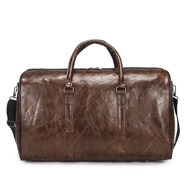 High Quality Luxury Leather Travel Bag