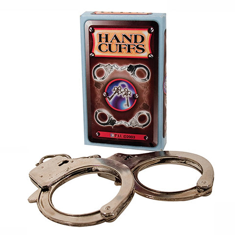 Starter Metal Handcuffs - Lights Off