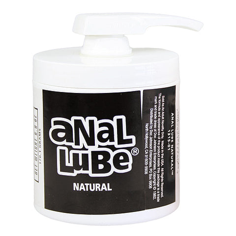 Doc Johnson Anal Lube-Natural - Lights Off