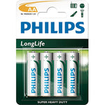 4 Pack AA Size Batteries - Lights Off