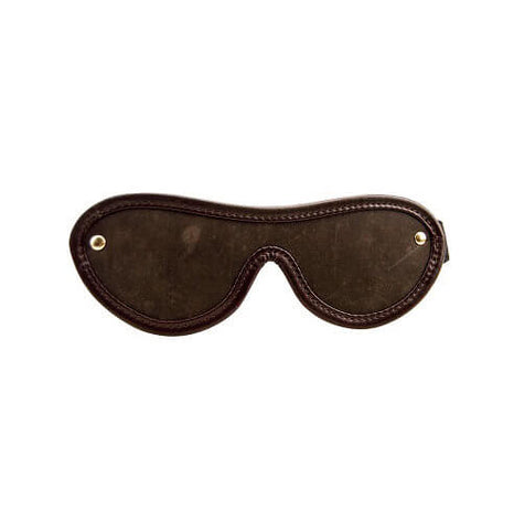 BOUND Nubuck Leather Blindfold - Lights Off