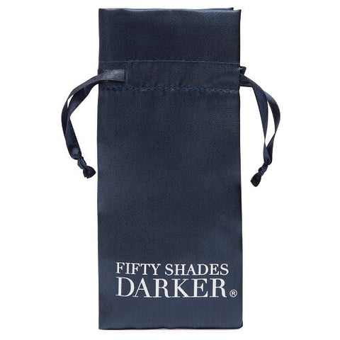 Fifty Shades Darker Just Sensation Beaded Clitoral Clamp - Lights Off