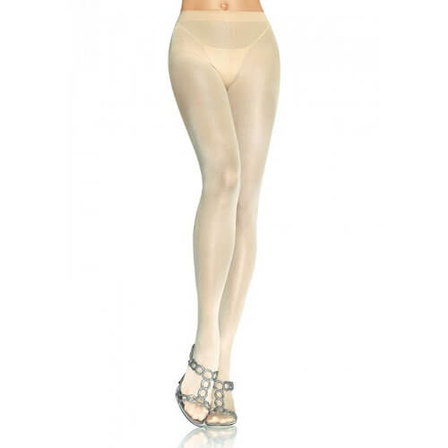 Leg Avenue Opaque Pantyhose Nude - Lights Off