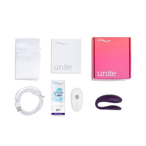 We-Vibe Unite Remote Controlled Clitoral Vibrator - Lights Off