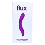 Loving Joy FLUX Silicone Bendable G-Spot Vibrator - Lights Off